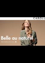 Catalogues et collections Caroll : Lookbook Belle au naturel Printemps-Été 2016