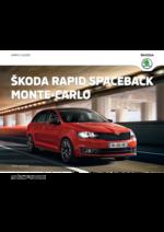 Catalogues et collections Skoda : La nouvelle Skoda Rapid Spaceback Monte-Carlo