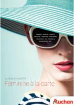 Prospectus Auchan : Féminine à la carte