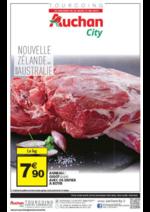Prospectus Auchan City : Origine Nouvelle Zélande ou Australie