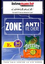 Prospectus Intermarché Contact : Zone anti vie chère