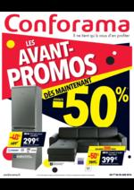 Prospectus Conforama : Les avant-promos