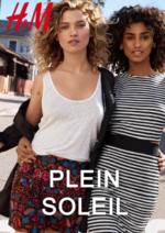 Catalogues et collections H&M : Le lookbook Femme Plein soleil