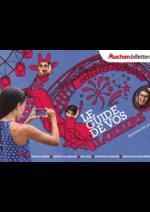 Guides et conseils Auchan : Le guide de vos loisirs