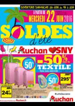 Prospectus Auchan : Soldes