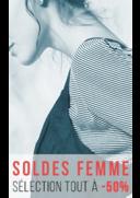 Promos et remises Bonobo PARIS : Soldes femme, sélection à -50%