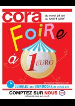 Prospectus Cora : Foire à 1€