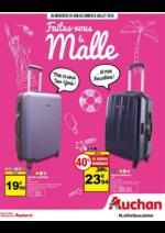 Prospectus Auchan : Faites-vous la malle