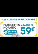 Promos et remises Norauto : Les plaquettes Norauto à partir de 59€
