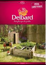 Prospectus Delbard : Spécial carré potager