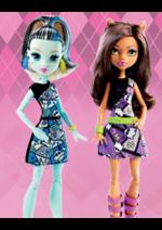 Bons Plans Maxi Toys : -50% sur la 2ème poupée Monster High
