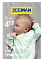 Prospectus Zeeman : Ils grandissent vite. Profitez-en.