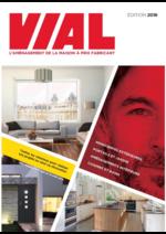 Catalogues et collections VIAL Menuiseries : Le catalogue 2016
