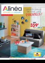 Prospectus Alinéa : Les petits espaces ont trouvé leurs essentiels !