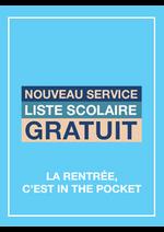 Services et infos pratiques Monoprix : Nouveau service : liste scolaire gratuit