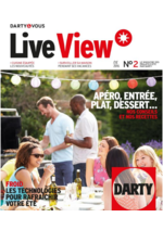 Journaux et magazines DARTY : Live View n°2