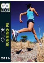 Guides et conseils Go Sport : Guide Running pe 2016