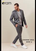 Catalogues et collections Eram : Lookbook hiver homme