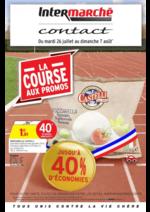 Prospectus Intermarché Contact : La course aux promos