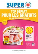 Prospectus Super U : Top départ pour les gratuits sur une sélection de produits