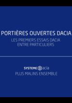 Evénements Dacia : Participez aux premiers essais Dacia entre particuliers