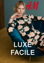 Catalogues et collections H&M : Lookbook femme Luxe facile