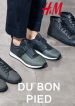 Catalogues et collections H&M : Lookbook homme: du bon pied