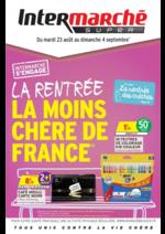 Prospectus Intermarché Super : La rentrée la moins chère de France