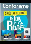 Prospectus Conforama CHARTRES - BARJOUVILLE : Spécial Techno, les Tops de la Rentrée