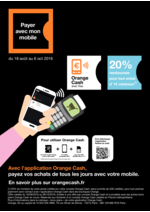 Prospectus Orange : Payer avec mon mobile