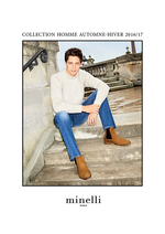 Catalogues et collections Minelli : Collection homme automne - hiver 2016-2017