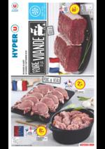 Prospectus Hyper U : Foire à la viande