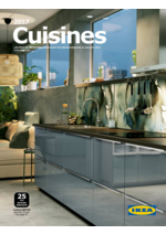 Catalogues et collections IKEA : Catalogue Cuisines 2017