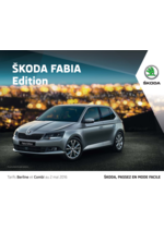 Catalogues et collections Skoda : La Skoda Fabia Edition