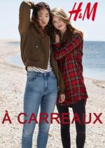 Catalogues et collections H&M : Lookbook femme À carreaux