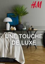 Catalogues et collections H&M : Lookbook maison Une touche de luxe