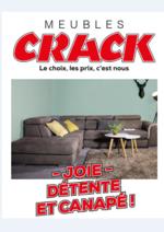 Catalogues et collections Meubles Crack : Joie, Détente et canapé