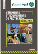 Promos et remises  : Vêtements et équipements de protection