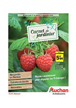 Prospectus Auchan : Carnet du jardinier