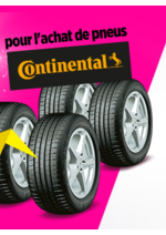 Bons Plans Feu Vert : Jusqu'à 160€ en chèque fidélité pour l'achat de pneus Continental