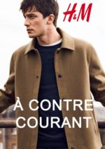 Catalogues et collections H&M : Lookbook homme à contre courant...