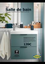 Catalogues et collections IKEA : Salle de bain, catalogue 2017