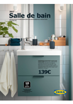 Catalogues et collections IKEA : Salle de bain, catalogue 2017