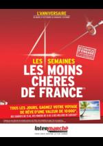 Promos et remises  : Les 4 semaines les moins chères de France