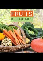 Promos et remises  : Fruits et légumes