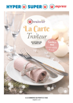 Promos et remises  : La carte traiteur