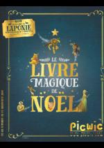 Catalogues et collections Picwic : LE LIVRE MAGIQUE DE NOËL