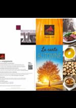 Menus Courtepaille : La carte automne