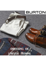 Catalogues et collections Burton : Le dressing de l'hiver Homme