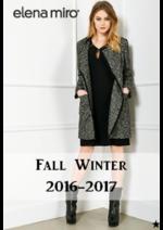 Promos et remises  : La collection automne hiver Elena Miró